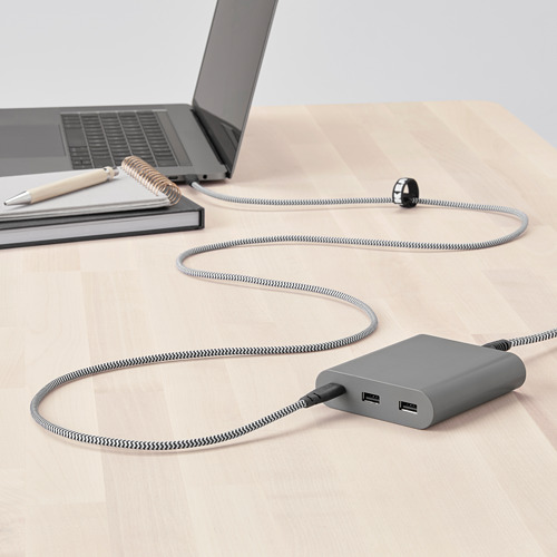 LILLHULT cable USB tipo C para USB
