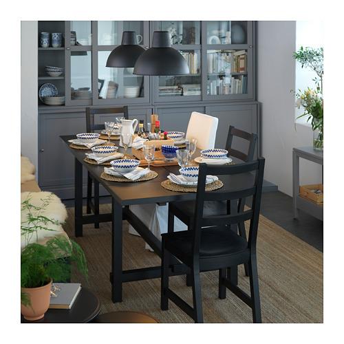 NORDVIKEN/NORDVIKEN mesa extensible con 4 sillas, máxima extensión 223cm