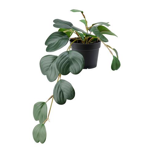 FEJKA planta artificial con maceta, 9 cm de diámetro
