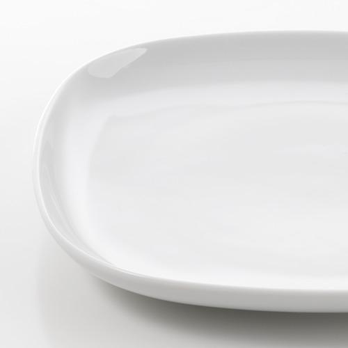 VÄRDERA vajilla 18 piezas, incluye 6 platos de 25cm, 6 platos de 20cm y 6 platos de 18cm de diámetro