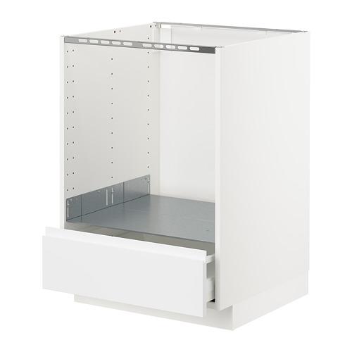 METOD armario bajo para horno con cajón