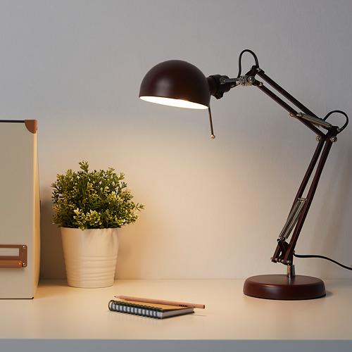 FORSÅ Lámpara flexo de trabajo