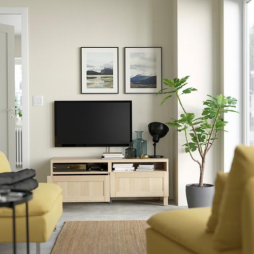 BESTÅ mueble TV con cajones