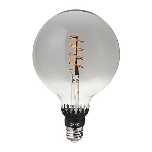 KRYSSMAST/ROLLSBO  lámpara de mesa con bombilla decorativa