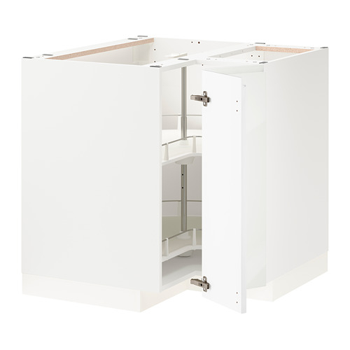 METOD armario bajo  cocina con carrusel y puerta