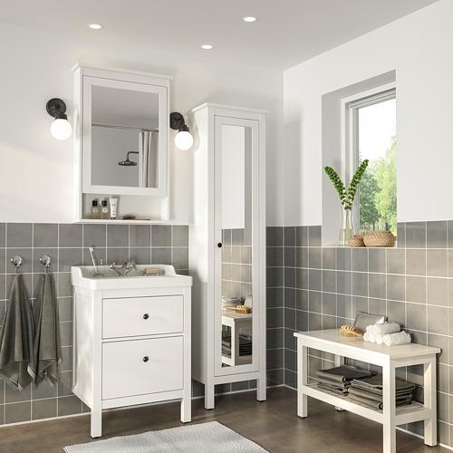 HEMNES/RÄTTVIKEN muebles de baño, juego de 5