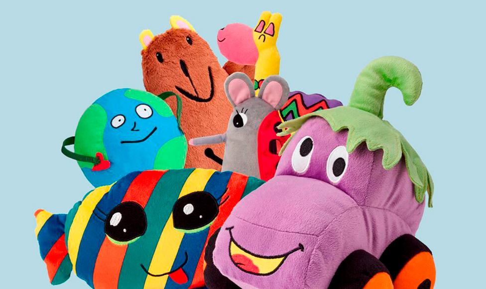 Meet the New SAGOSKATT Soft Toys