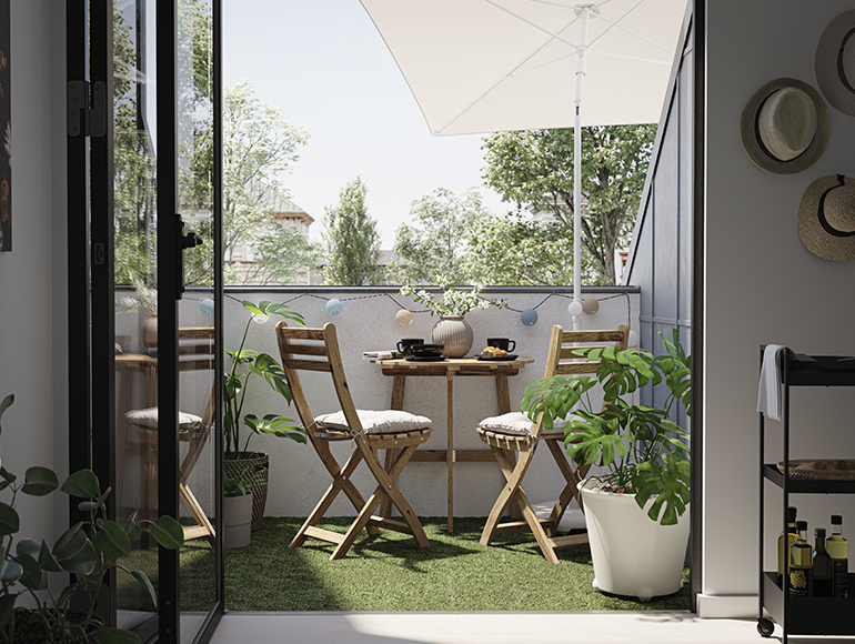 Prepara tu balcón para el buen tiempo