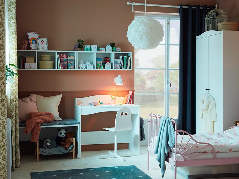Un dormitorio infantil para imaginar y soñar