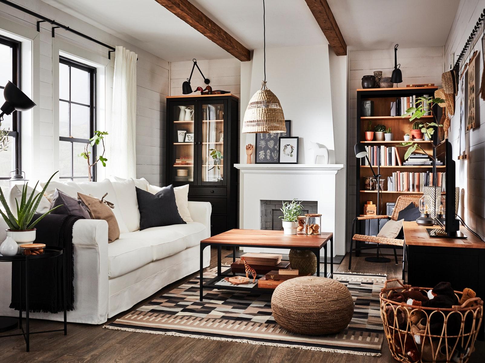 Un salón tradicional para coleccionar momentos con los tuyos