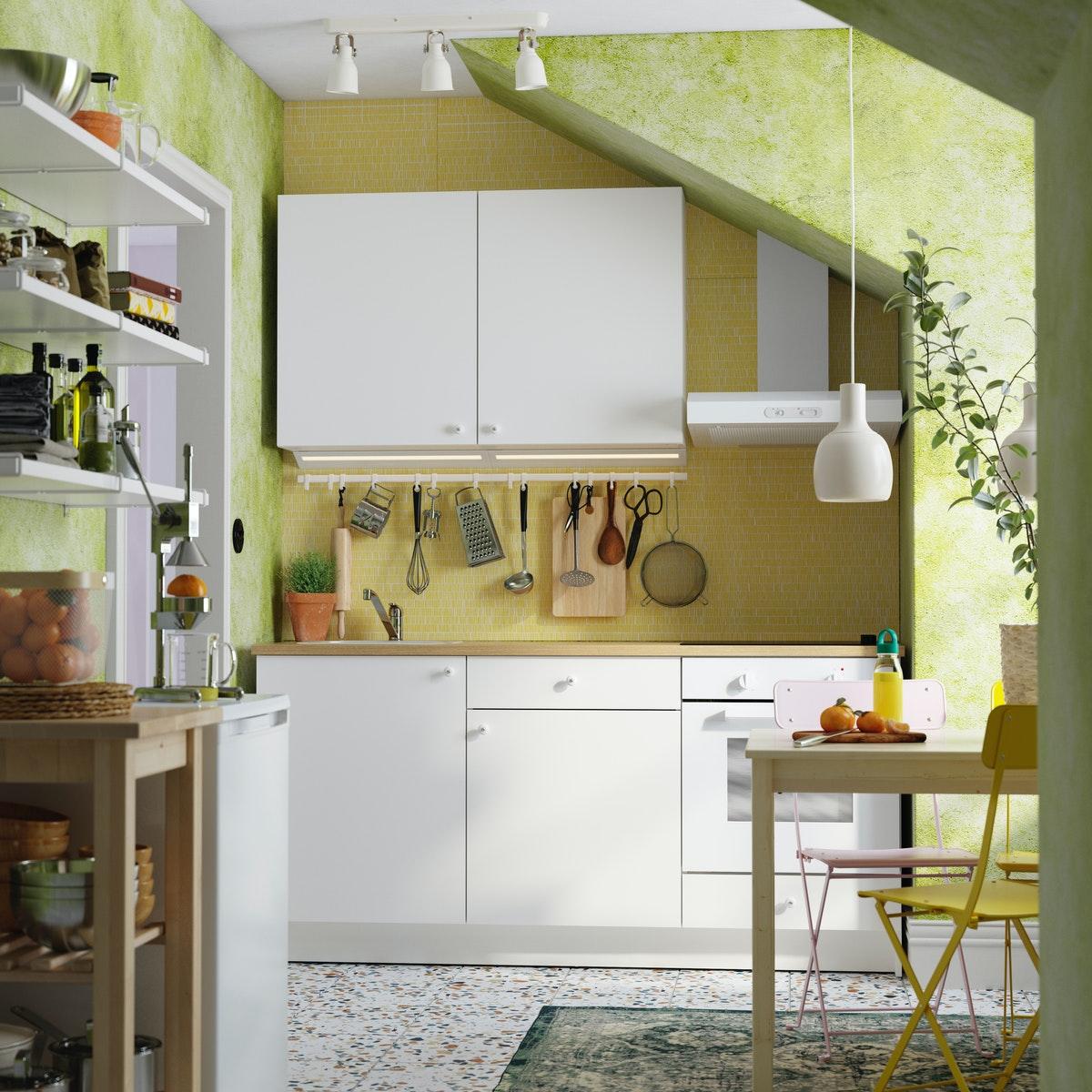 Cómo organizar y distribuir la cocina de un piso compartido