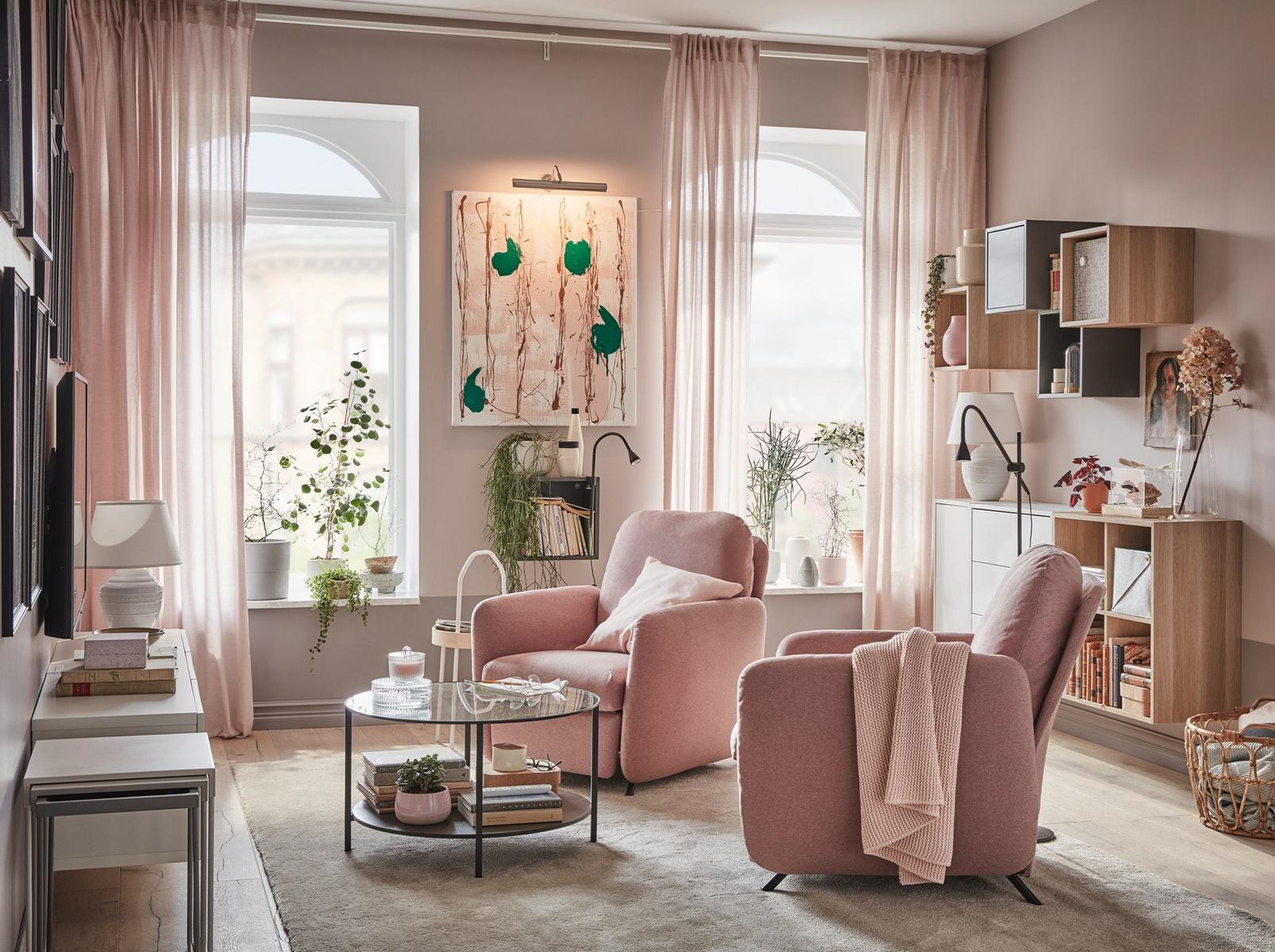 Un salón cómodo para tus momentos de relax