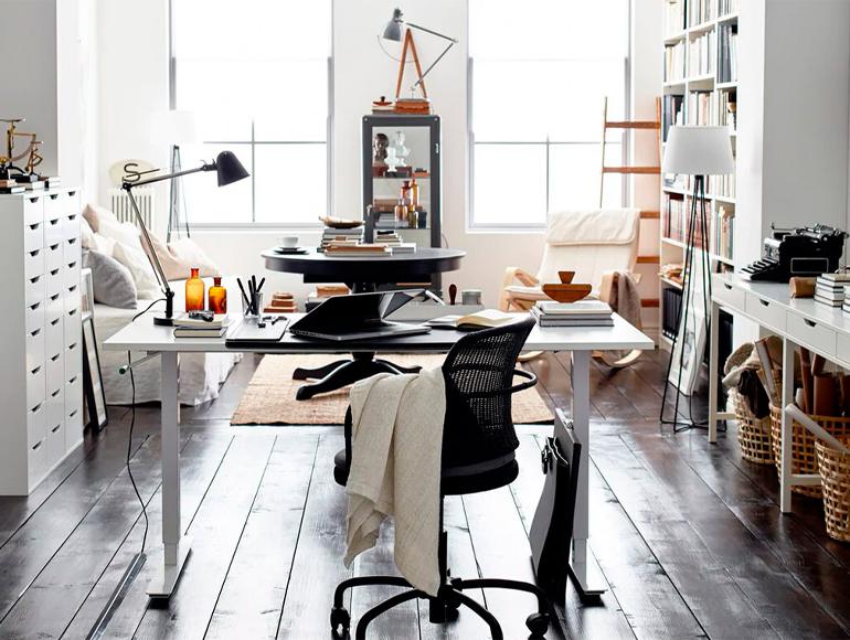 3 trucos para crear un espacio de trabajo en casa con mucho estilo