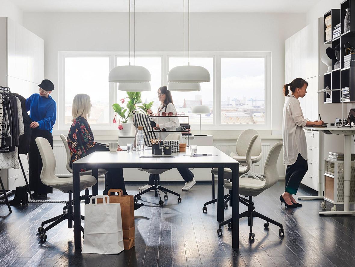 Una oficina diseñada para ser creativa