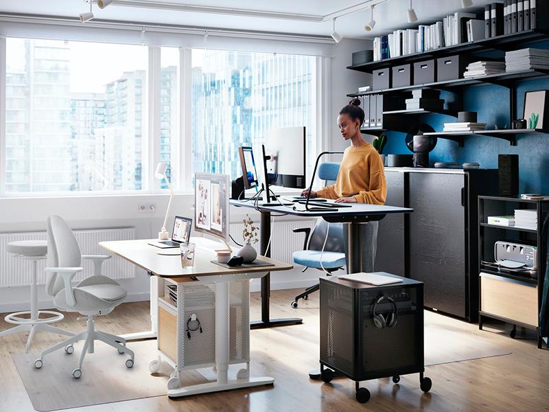 Una oficina personalizada
