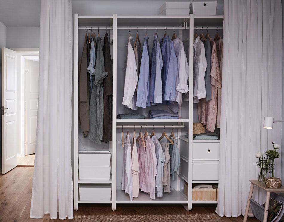 Propósito de año nuevo: organizar el armario