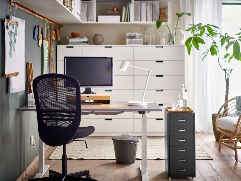 Tu oficina en casa: cómoda y productiva