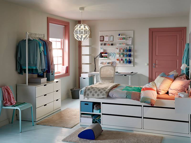 Almacenaje para todos los dormitorios