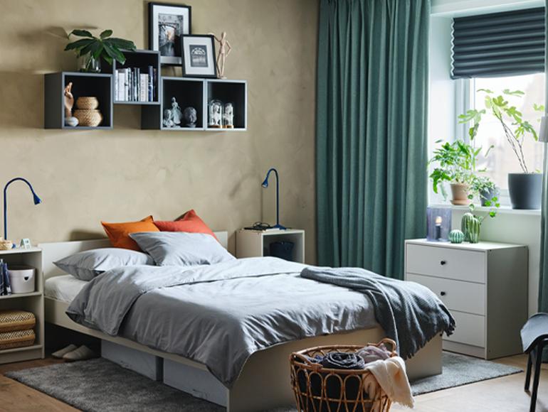 Crea un dormitorio armonioso de forma sencilla