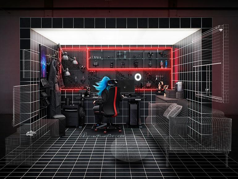 La mejor experiencia gaming con IKEA y ROG