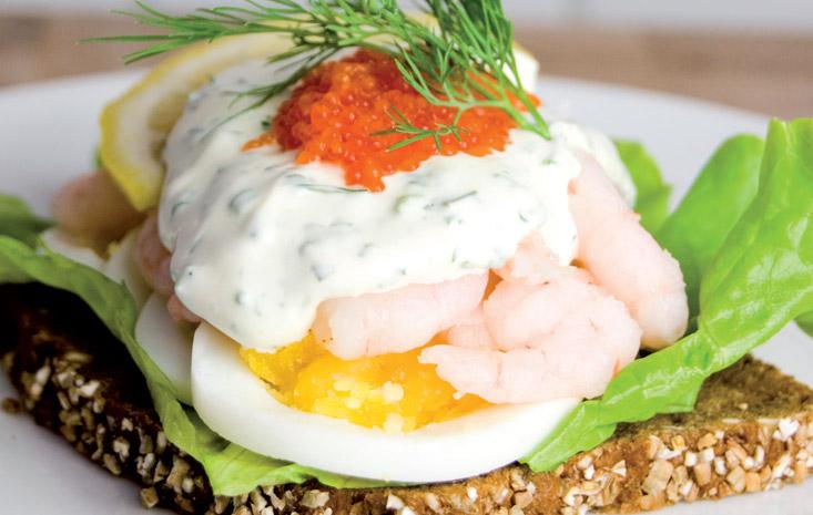 Bohus shrimp sandwich